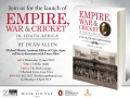 Empire, War & Cricket, Official Launch, The Book Lounge, 15 April 2015