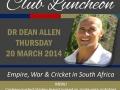 Kelvin Grove, Cape Town, Talk, March 2014
