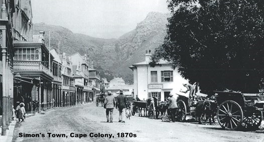 Simon's Town, Cape Colony, 1870s